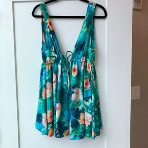 Show Me Your MuMu floral dress